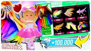 Buying All The New Wings In Royale High And The BEST Diamond Farming Technique To Get Them! Roblox