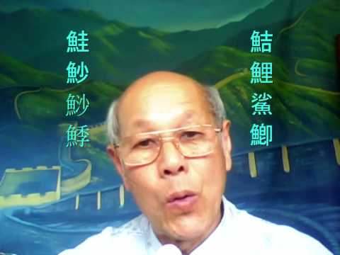 CHINESE CHARACTERS A LOGICAL WAY - 8 - FISH 魚 796c_0002.wmv