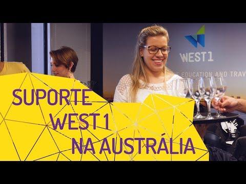 Suporte que as agências WEST 1 oferecem aos estudantes na Austrália