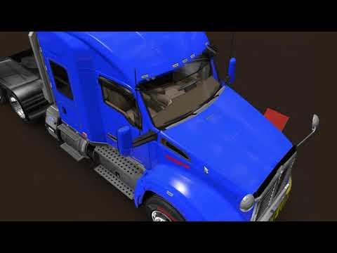 American Truck Simulator Exploring MHA PRO MAP 1.29 With Kenworth T680/880 Part 1