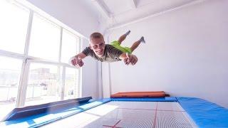 Прыжки на батуте ZenSpirit Trampoline School