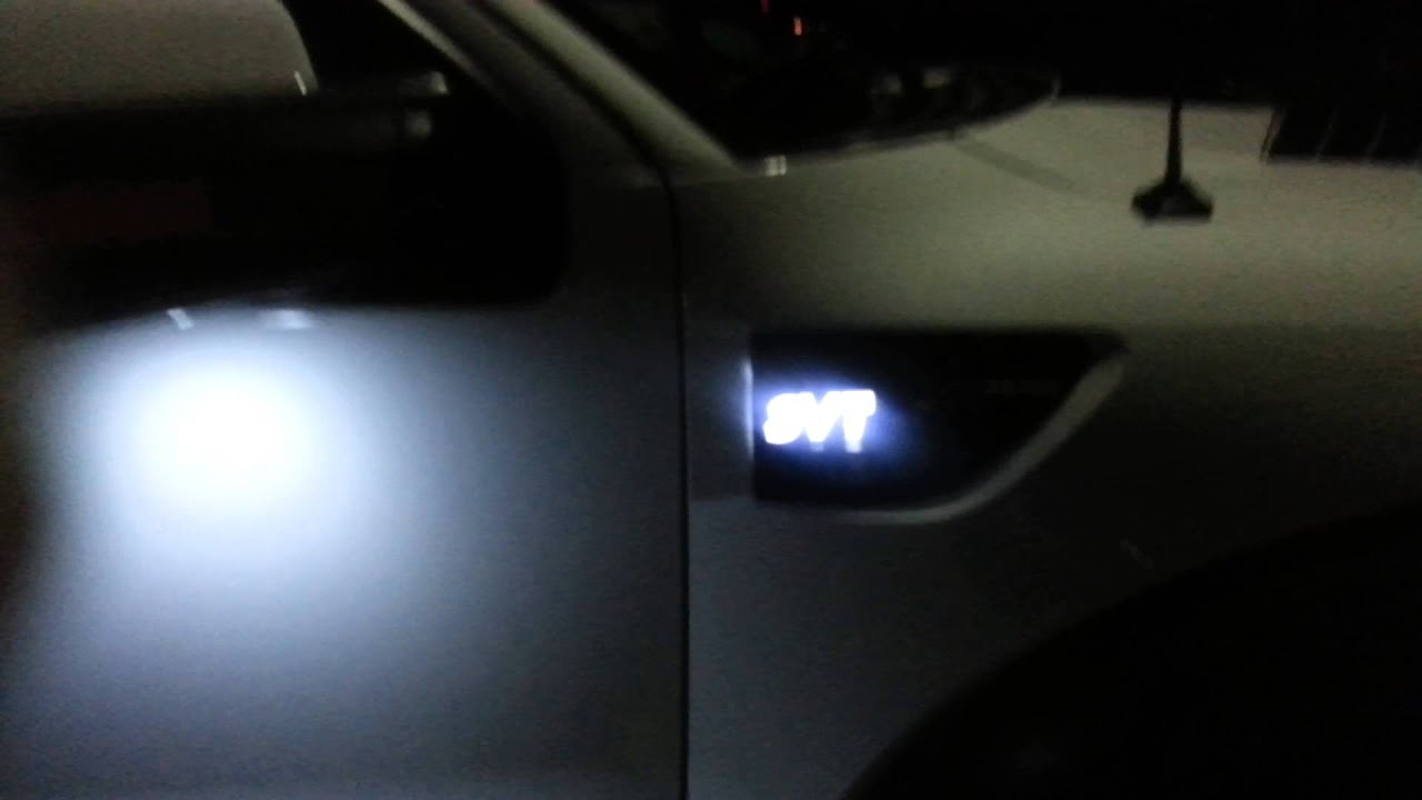 Recon Svt Illuminated Emblems Side Vents Youtube