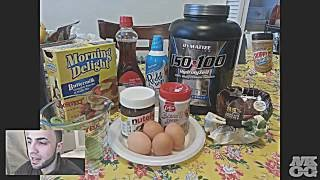 Nkog - Full Body Post Workout Pb2 Nutella Protein Pancakes 1200 Calories