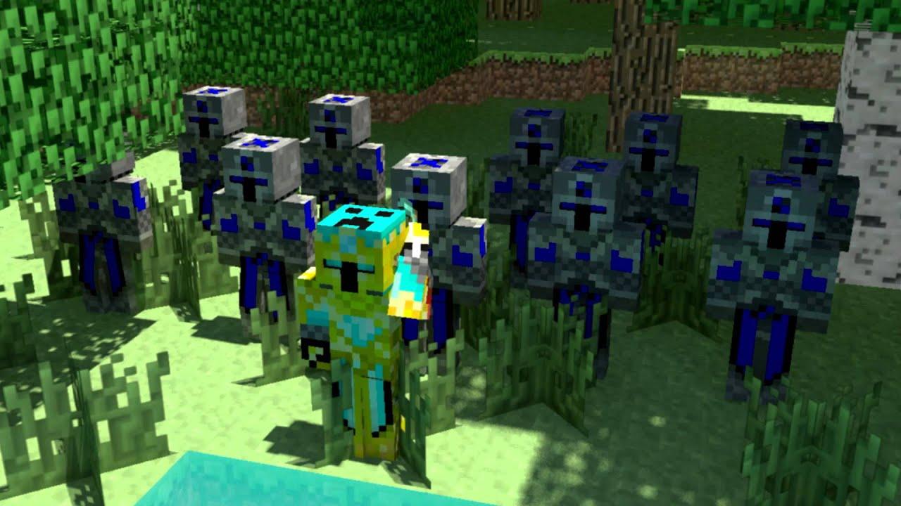 anti-warrior   a minecraft animation