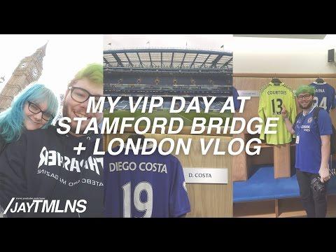 TOUR OF STAMFORD BRIDGE + LONDON VLOG