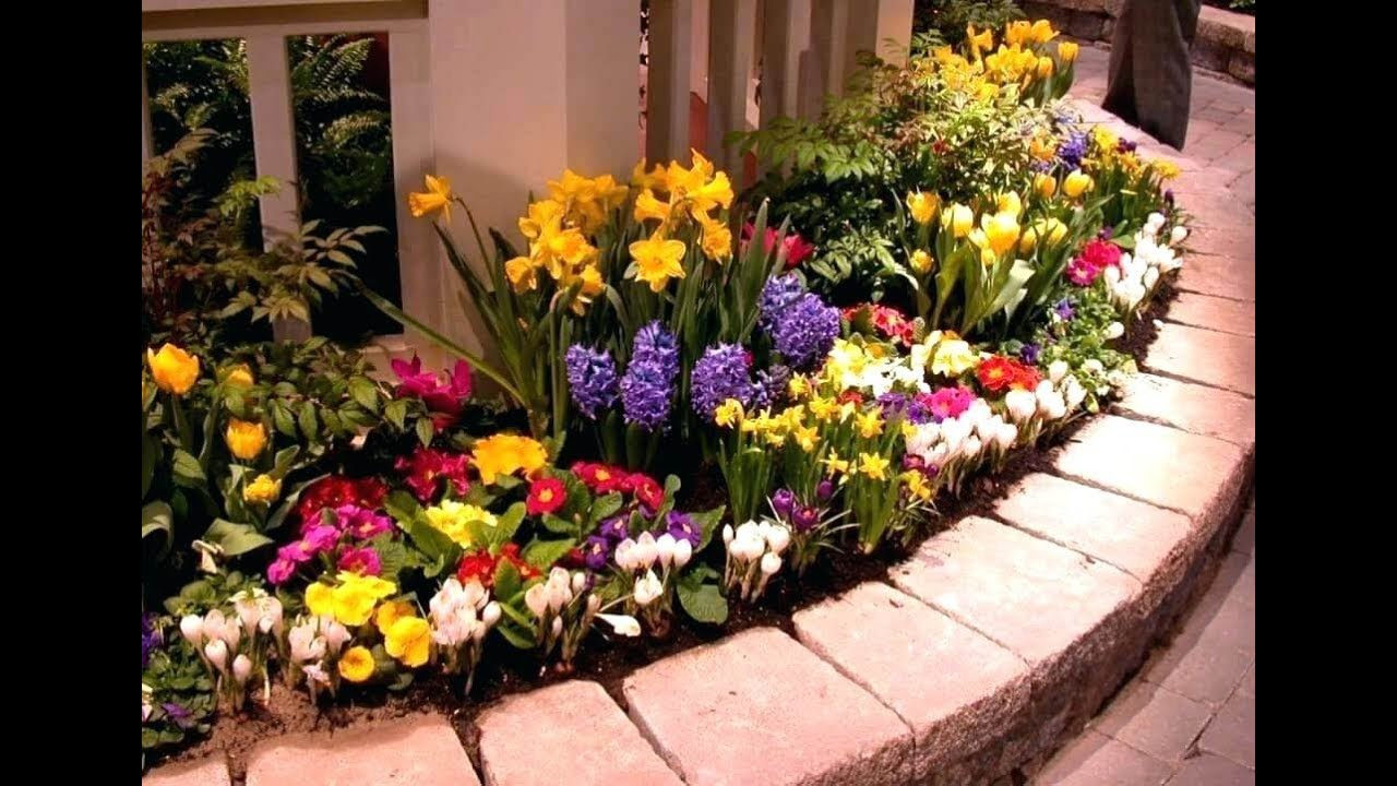 50 Flower Bed Designs For Front Of House Ideas