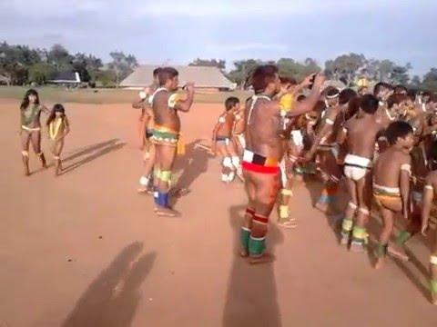 Festa indígena da etnia Suia.