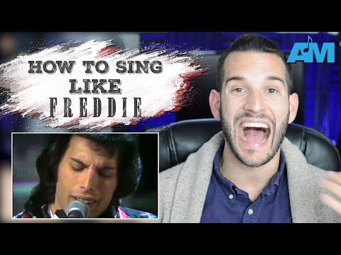 how to sing like FREDDIE MERCURY