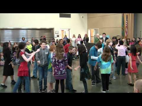 Nolan - Ballroom Dancing - Parkside Elementary School:  December 16, 2011