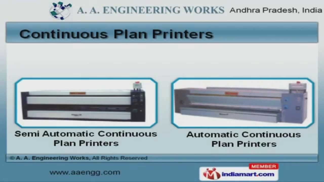 Blue printing machine by a a engineering works secunderabad blue printing machine by a a engineering works secunderabad youtube malvernweather Image collections