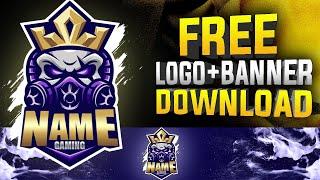 Free Lol Premium Logo + Banner Template | mascot logo banner | lol logo yapma #18