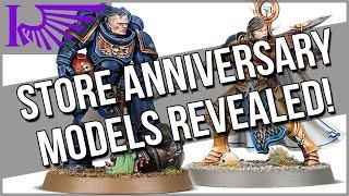 Store Anniversary Exclusive Models Announced  And I Prefer The Stormcast?!