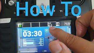Radiomaster TX16S: How to add Transmitter Battery Voltage Widget screenshot 3