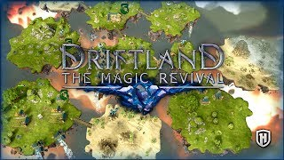 NEW FANTASY RTS! - BUILD YOUR EMPIRE IN THE SKY | Driftland the Magic Revival Gameplay #1