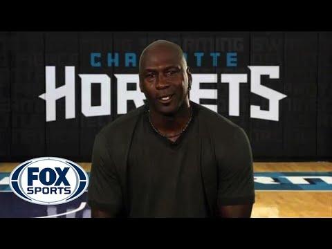 Michael Jordan says farewell to Kobe Bryant | Los Angeles Lakers at Charlottle Hornets