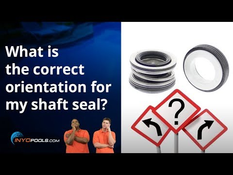 What Is The Correct Orientation For My Shaft Seal Youtube
