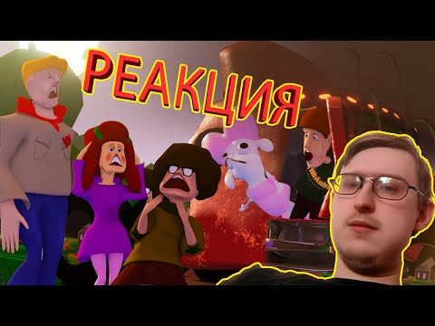Halloween Pranks - a night in an abandoned village   Dof   RUSSIAN REACTION
