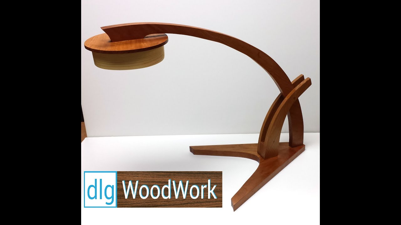 How to Make Wooden Desk Lamp