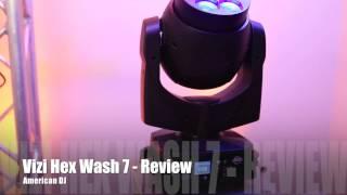 ADJ - Vizi Hex Wash 7 - Review