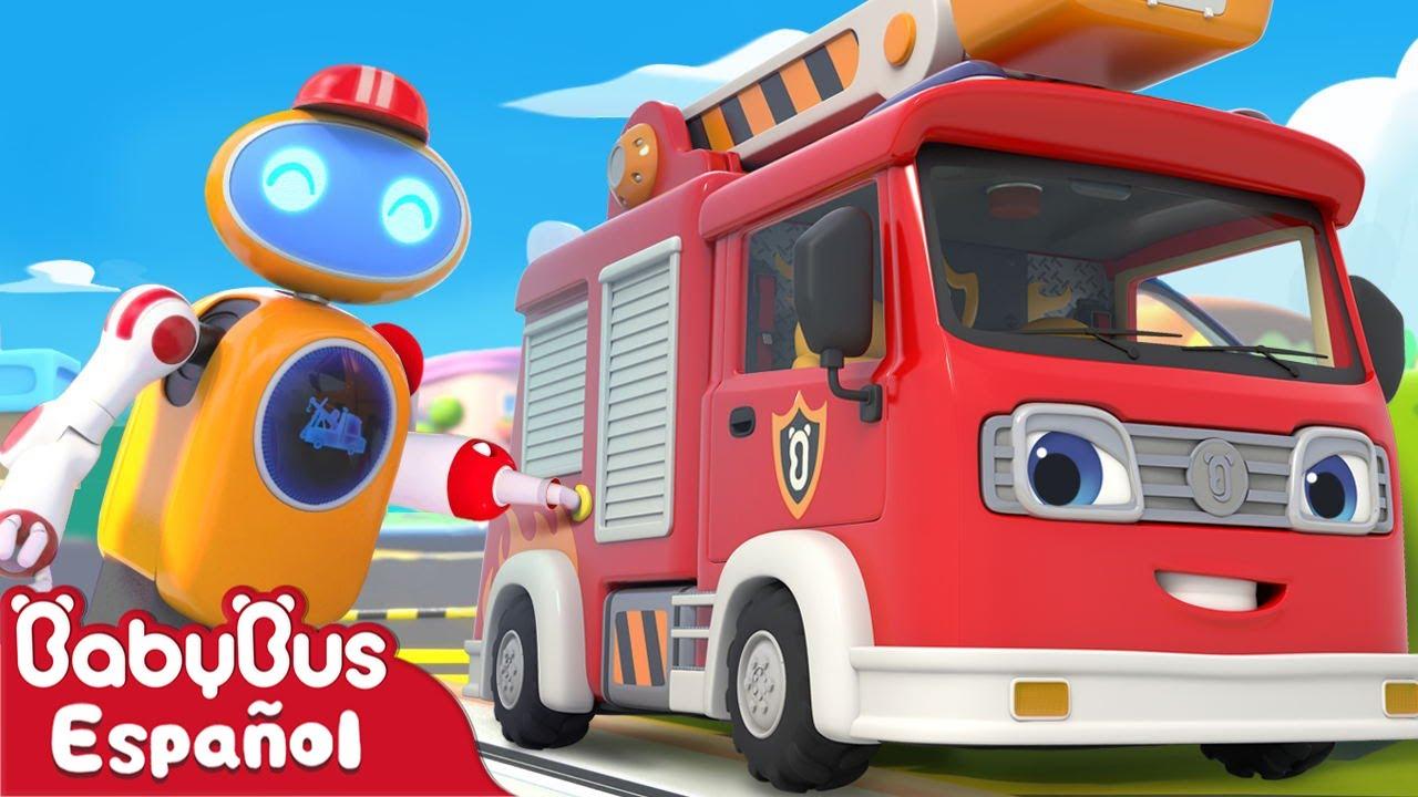 El Gasolinero Robot | Canción Infantil | Video Para Niños | BabyBus Español