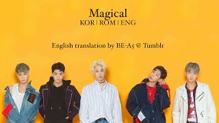 [HAN/ROM/ENG] Magical - Be.A