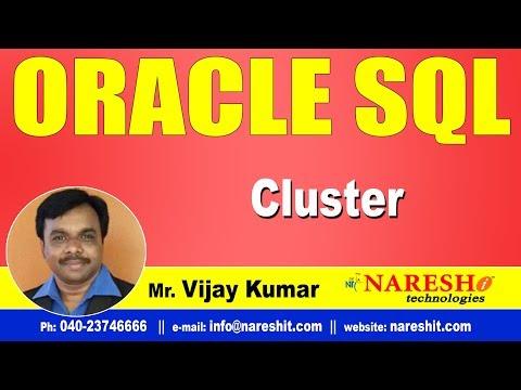 cluster-in-oracle- -oracle-sql-tutorial-videos- -mr.vijay-kumar