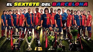 FC Barcelona's Six Titles in 2009