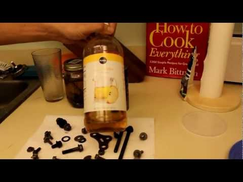 HOW TO remove rust with vinegar