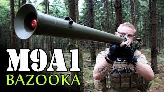 APPLE AIRSOFT  BAZOOKA Review - M9A1 Grenade Launcher Softair Test GSPAirsoft