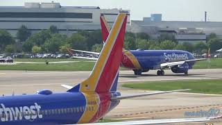 **Delivery Flight** Southwest Airlines 737-8 MAX (WN8701) landing at DAL (N8710M) {BFI-DAL}