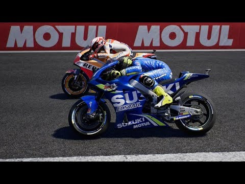motogp 18 career pt 45 fierce battle with marquez. Black Bedroom Furniture Sets. Home Design Ideas