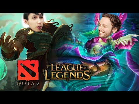 Dota 2 Players in League Of Legends #4 - SingSing & Gorgc LoL Highlights