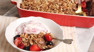 Baked Coconut Berry Oatmeal | Episode 1130