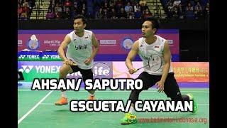 Download Video Group D Asia Badminton Team 2018: Mohammad Ahsan/ Rian Saputro vs Philippines MP3 3GP MP4