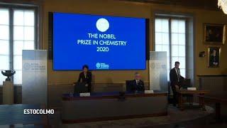 """Científicas ganan Nobel de Química por """"tijeras genéticas"""""""