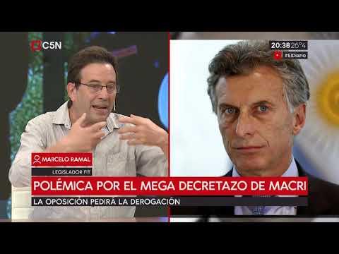 Polémica por el mega decretazo de Macri