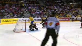 Jääkiekon MM 2011 Ruotsi - Saksa [SWE - GER] maalikooste