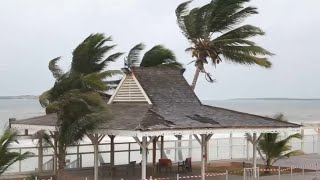 À Saint-Martin, les habitants sont appelés à quitter le littoral avant l'arrivée de l'ouragan Irma