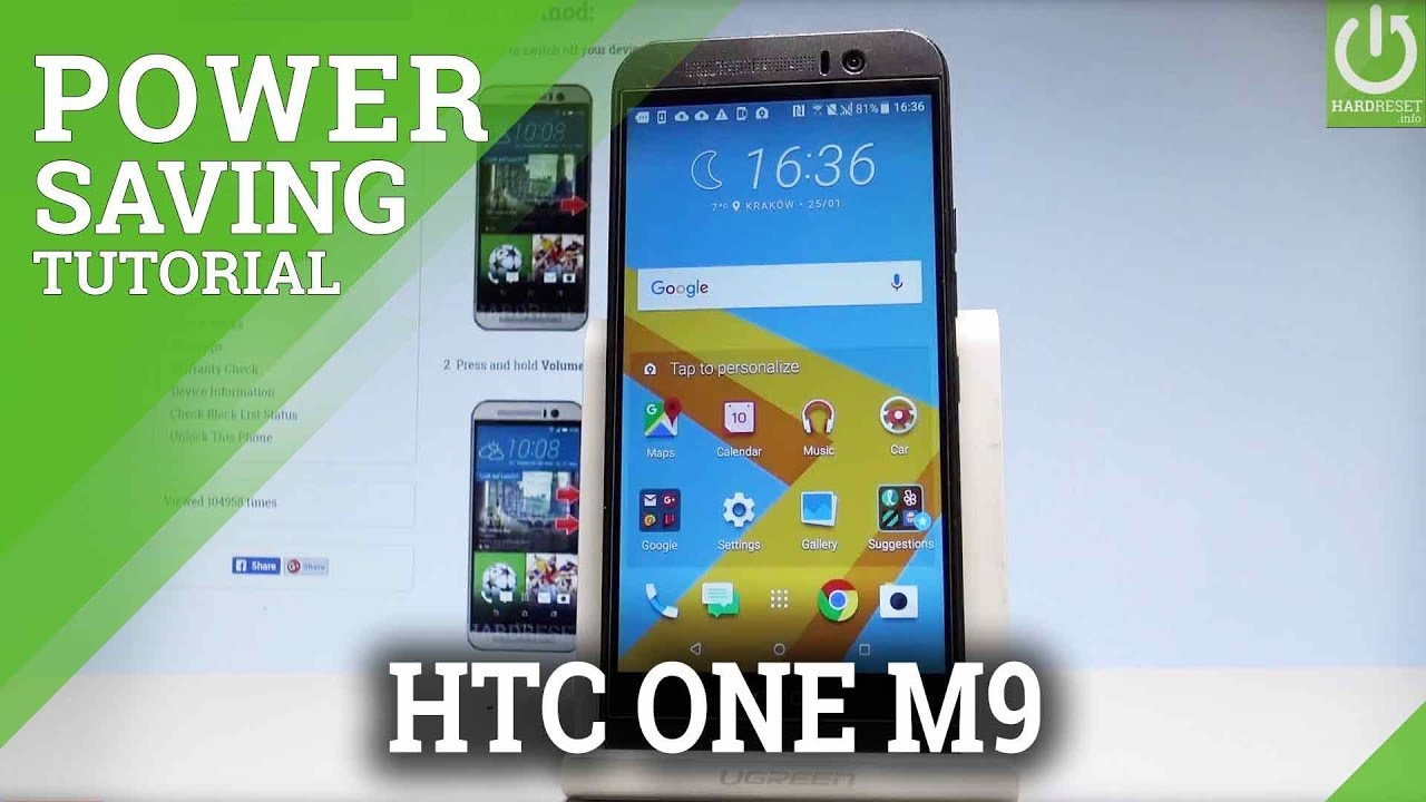 Htc One M9 Battery Saver Low Power Solution Youtube Car