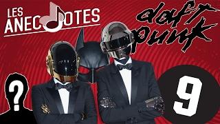 DAFT PUNK + LE CHIFFRE 9, BATMAN ET MYSTERE - LES ANECNOTES #15