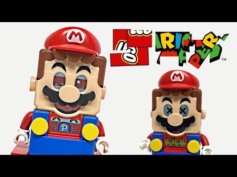My LEGO Mario is BROKEN! Creepy glitches! 🤣