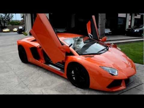 Lamborghini Aventador LP700-4 on GFG Wheels @ Lamborghini Newport Beach