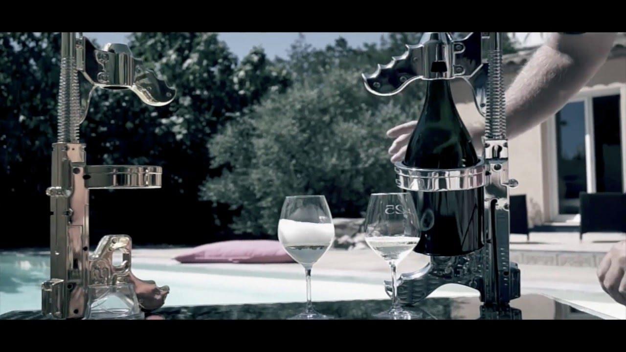 The Champagne Machine Gun is Like a Bubbly Super Soaker