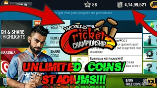 [140MB]How To Download Hacked World Cricket Championship 2[2.5.3] Apk + Data On Any Android Device