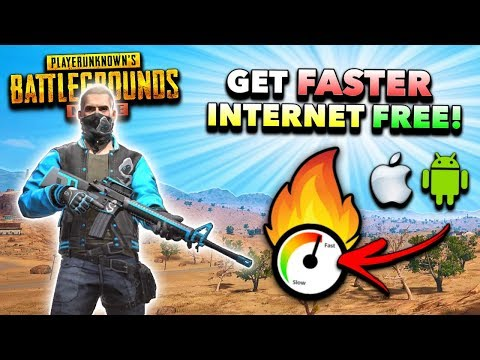 How to Get FASTER INTERNET SPEED in PUBG Mobile for iOS/Android! (Easy Lag + PING Fix)