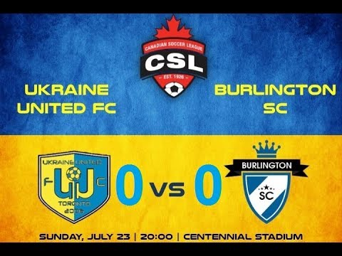 FC UKRAINE UNITED  vs   BURLINGTON SC   0 : 0