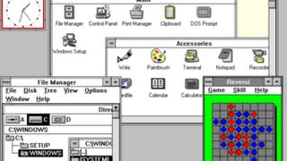 Microsoft Windows 3.x Preview