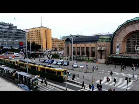 Time Lapse Helsinki Finland