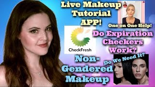What's Up in Makeup NEWS! YouCam 1:1 Makeup Tips App! Does CheckFresh Work? Is Makeup Inclusive?