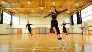 UniCircle Flow: All That Jazz (Trio) 一輪車演技 Unicycle Dance